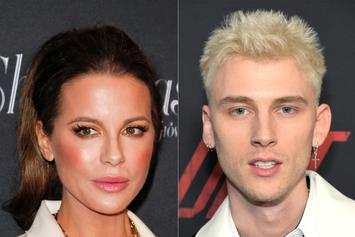 Kate Beckinsale Seen With Machine Gun Kelly, Friend Of Her Ex, Pete Davidson