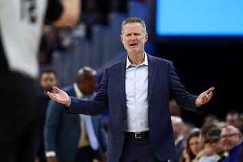 """Warriors' Steve Kerr Ejected For Scolding Refs: """"Wake Your Ass Up!"""""""