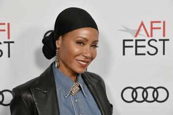 Jada Pinkett Smith Is Glowing With Her New Blonde Locks