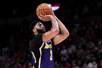 Anthony Davis' Injury Status Updated Following Awkward Fall: Report