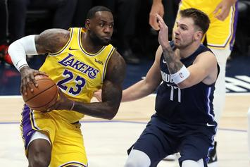Luka Doncic Reacts To Recent LeBron James Comparisons