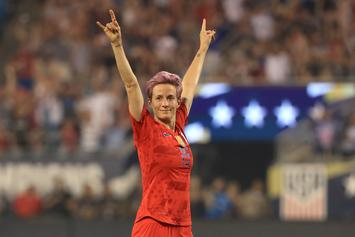 """Megan Rapinoe On Olympics' Protest Ban: """"We Will Not Be Silenced"""""""