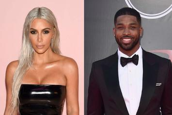 """Kim Kardashian Denies Booing Tristan Thompson: """"I Was There To Support Him!"""""""