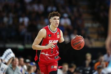 LaMelo Ball Ends His NBL Season To Focus On The NBA Draft