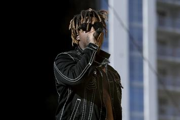 Juice WRLD Photo From The Night He Recorded Eminem Verse Hits The 'Gram