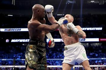 """Floyd Mayweather Teases """"Mayweather-McGregor 2"""" In 2020 After UFC 246"""