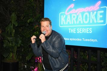 """James Corden Exposed For Not Actually Driving In """"Carpool Karaoke"""" With Justin Bieber"""