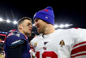 Tom Brady Sends Friendly Parting Shots At Eli Manning, Eli Responds
