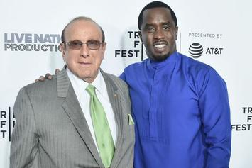 """Diddy """"Blown Away"""" By Clive Davis Pre-Grammy Award In Thank You Video"""