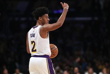Lakers' Quinn Cook Changes Jersey Number In Honor Of Gianna Bryant
