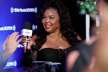 Lizzo Grabs Her Girl Gang For Seductive Bikini Photo Shoot In Miami