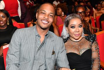 """T.I. Calls Out Tiny For Staring At His Cakes: """"My Eyes Are Up Here"""""""