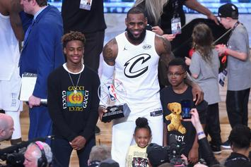 LeBron James' Son Bryce Knocks Down Daggers In New Hype Video