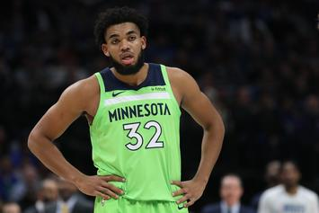 Karl-Anthony Towns Pens Touching Message To Traded T-Wolves Players