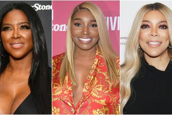 "Kenya Moore Says ""RHOA"" Co-Star NeNe Leakes Is Using Wendy Williams"