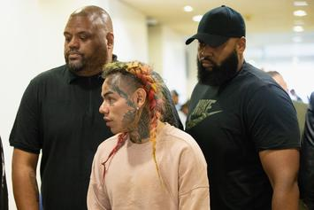 "Tekashi 6ix9ine Hit With Federal Lawsuit Over ""STOOPID"": Report"