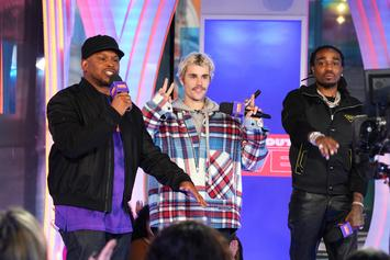 """Justin Bieber Brings Out Quavo For """"Intentions"""" Performance On """"SNL"""""""