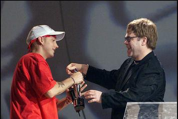 Eminem & Elton John Reunite At 2020 Academy Awards