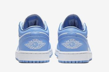 "Air Jordan 1 Low ""UNC"" Drops This Spring: Official Photos"