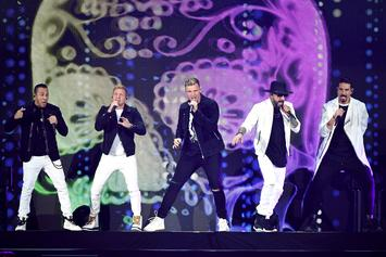 """The Backstreet Boys Join Jimmy Fallon To Perform """"The Thong Song"""""""