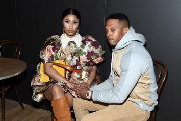 Nicki Minaj & Kenneth Petty Kiss Front-Row At NYFW