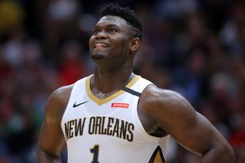 Zion Williamson's Dunk Damages Backboard During Rising Stars Game