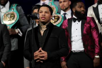 Gervonta Davis Threatens Troll For Bringing Up His Domestic Assault Charge