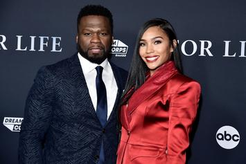 50 Cent's Girlfriend Was Confused By Her Flashy Valentine's Day Gift