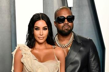 Kanye West Gets Jokes For Leaving Kim Kardashian In Elevator With Bags