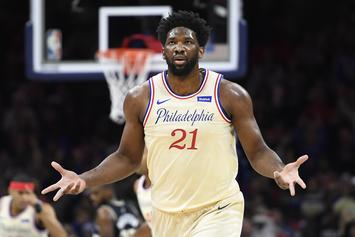 Sixers' Joel Embiid Injured During Loss To The Cavs, Fans React