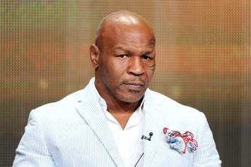 """Mike Tyson Cries & Calls Himself """"Empty"""" Without Boxing"""