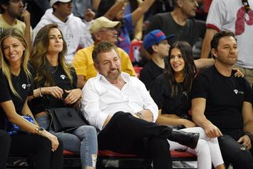 Knicks Fans Kicked Out Of MSG After Anti-James Dolan Chants