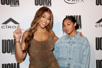 Jordyn Woods & Little Sister Jodie Are Practically Identical
