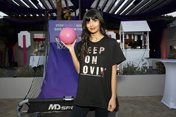 Jameela Jamil Slams Jokes About Her Getting Coronavirus