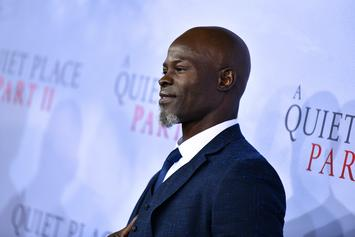 Djimon Hounsou Comments On His Son Being Called The N-Word
