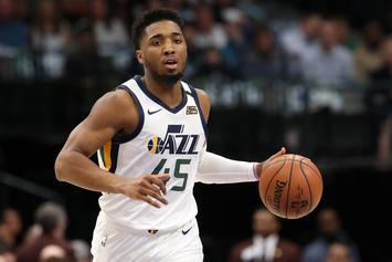 "Donovan Mitchell Gives Coronavirus Update: Says ""I Feel Fine"""