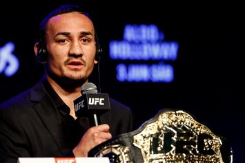 Max Holloway Sums Up Why It's Important To Practice Social Distancing