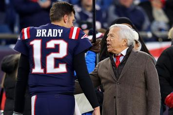 """Robert Kraft Takes Out Full-Page Ad Thanking """"GOAT"""" Tom Brady"""