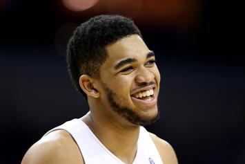 NBA Player Karl-Anthony Towns Reveals Mom In Coma Due To Coronavirus