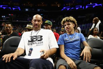 """LaVar Ball Seen As """"Wild Card"""" In Regards To LaMelo's Draft Stock"""