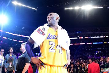 """Kobe Bryant's """"Mamba Out"""" Towel Sells For Massive Amount At Auction"""