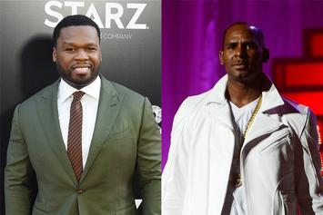 50 Cent Shares Savage R. Kelly COVID-19 Meme