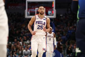 Ben Simmons Appears To Tamper With Devin Booker During Stream