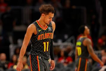 Trae Young Crosses Up His Own Dog With Exceptional Handles
