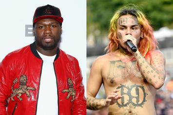 50 Cent Says He Would Rather 6ix9ine Over His Own Son