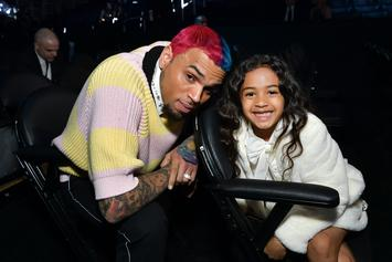 "Chris Brown's Daughter Does Drake's ""Toosie Slide"" Dance"