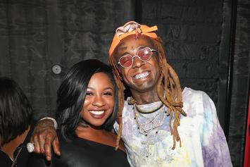 Lil Wayne Reacts To Reginae Carter's Reenactment Of His Court Deposition