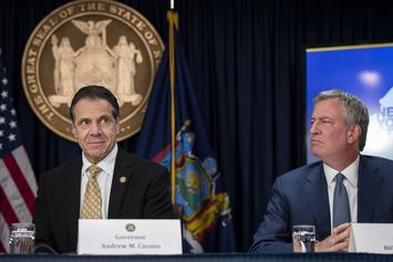 Mayor Bill De Blasio Beefs With Gov. Cuomo Over Closing NYC Schools