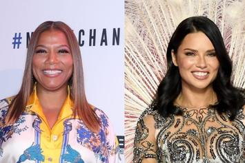 Queen Latifah Names Supermodel Adriana Lima As Her Celebrity Crush