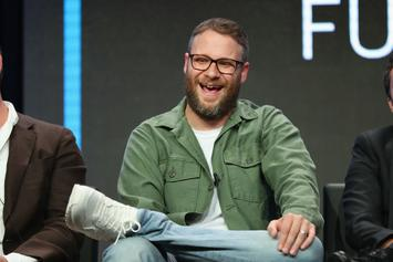 """Seth Rogen Has Been Quarantining With An """"Ungodly"""" Weed Stash"""